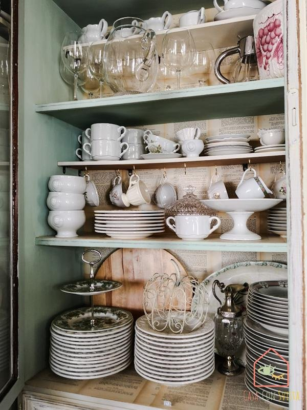 Vetrina Cucina Servizi ceramica