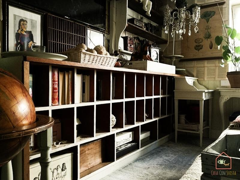 Soggiorno libreria bassa