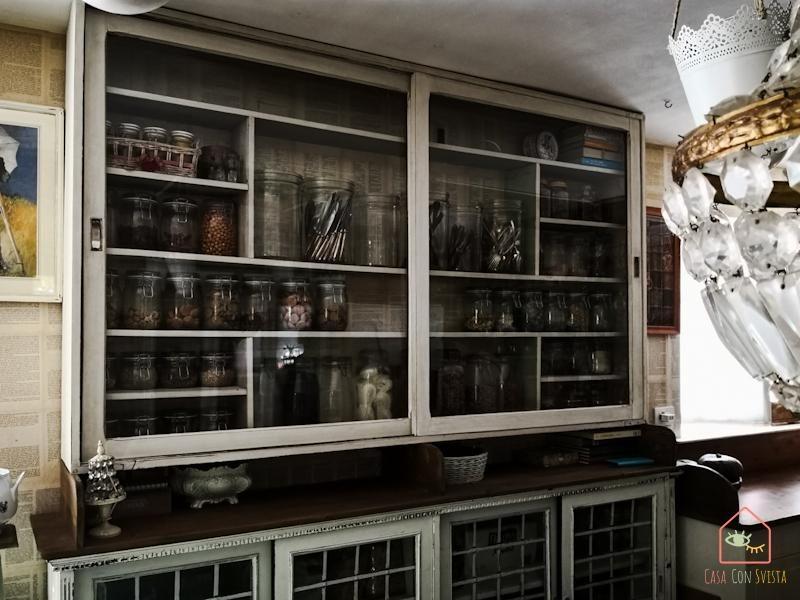Cucina Vetrina Barberia