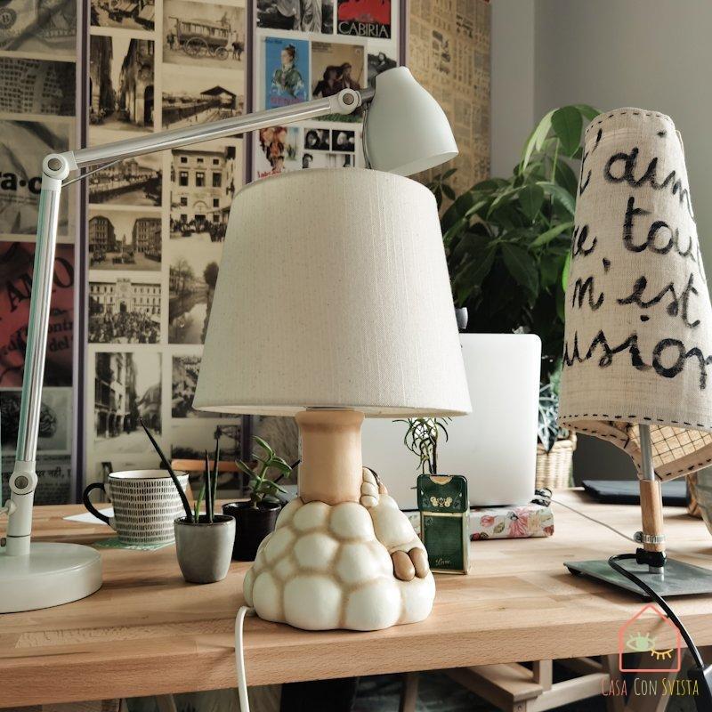 Abat-jour extra per maggiore luce artificiale