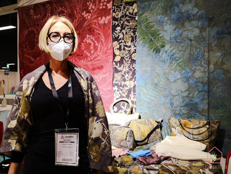 Abilmente Vicenza 2020 Ecoprinting Daniela Spinucci