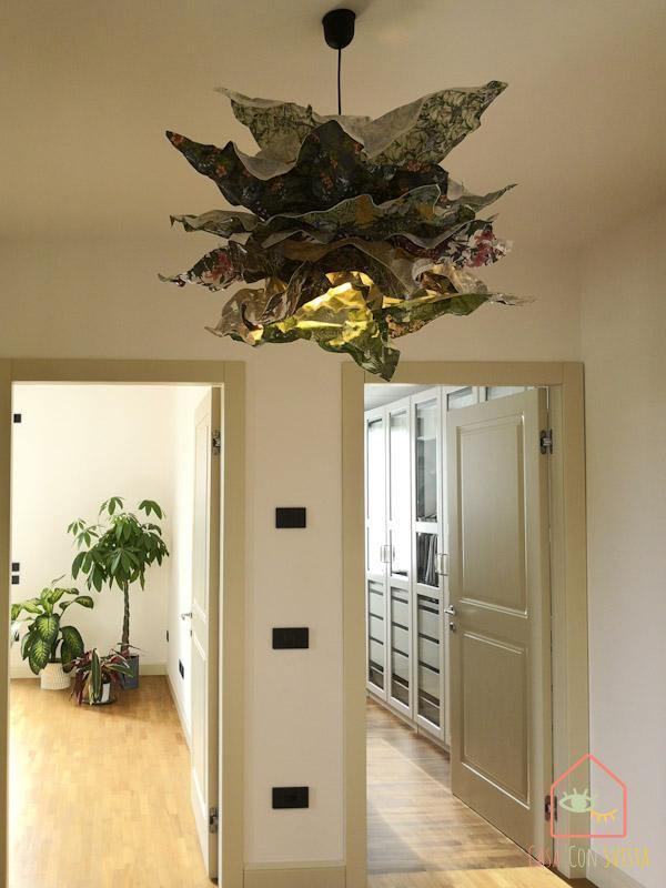 Ikea Hack Diy Pape r Lamp total 1