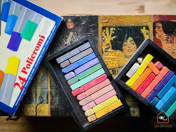 Gessetti colorati da disegno