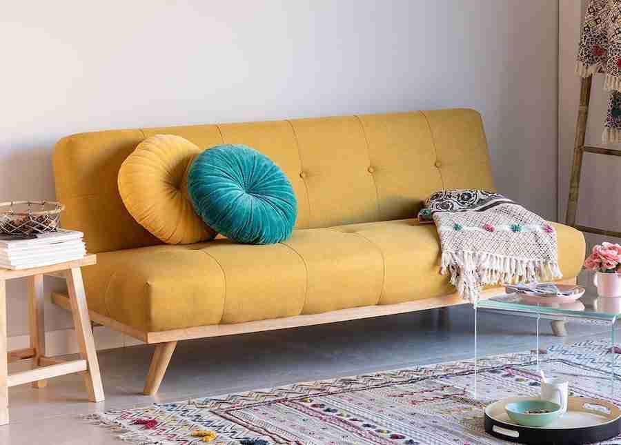 divano-letto-3-posti-lino-giallo-sklum