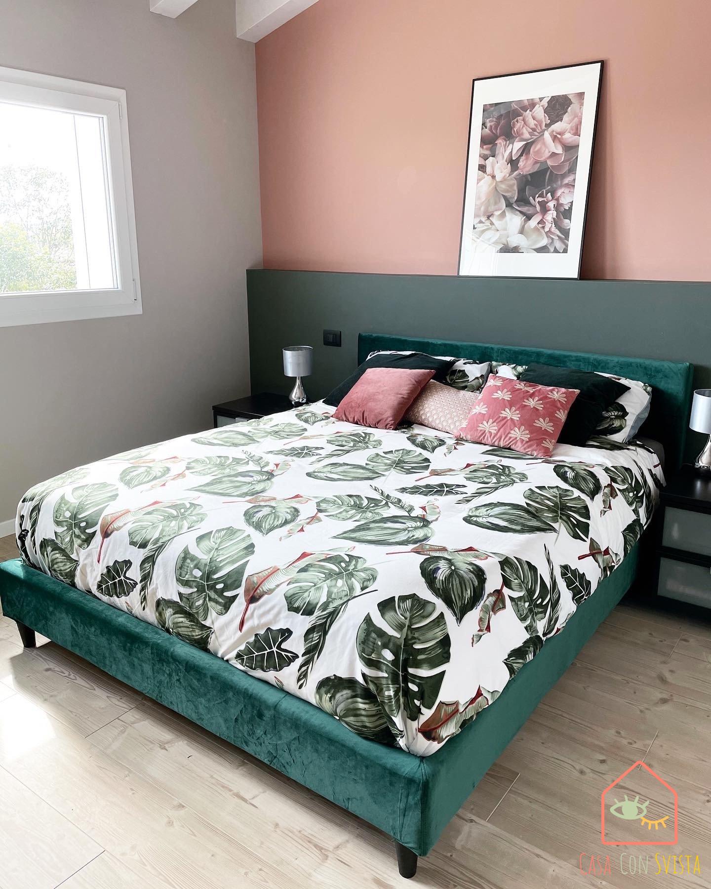 camera-letto-casa-verde-salvia