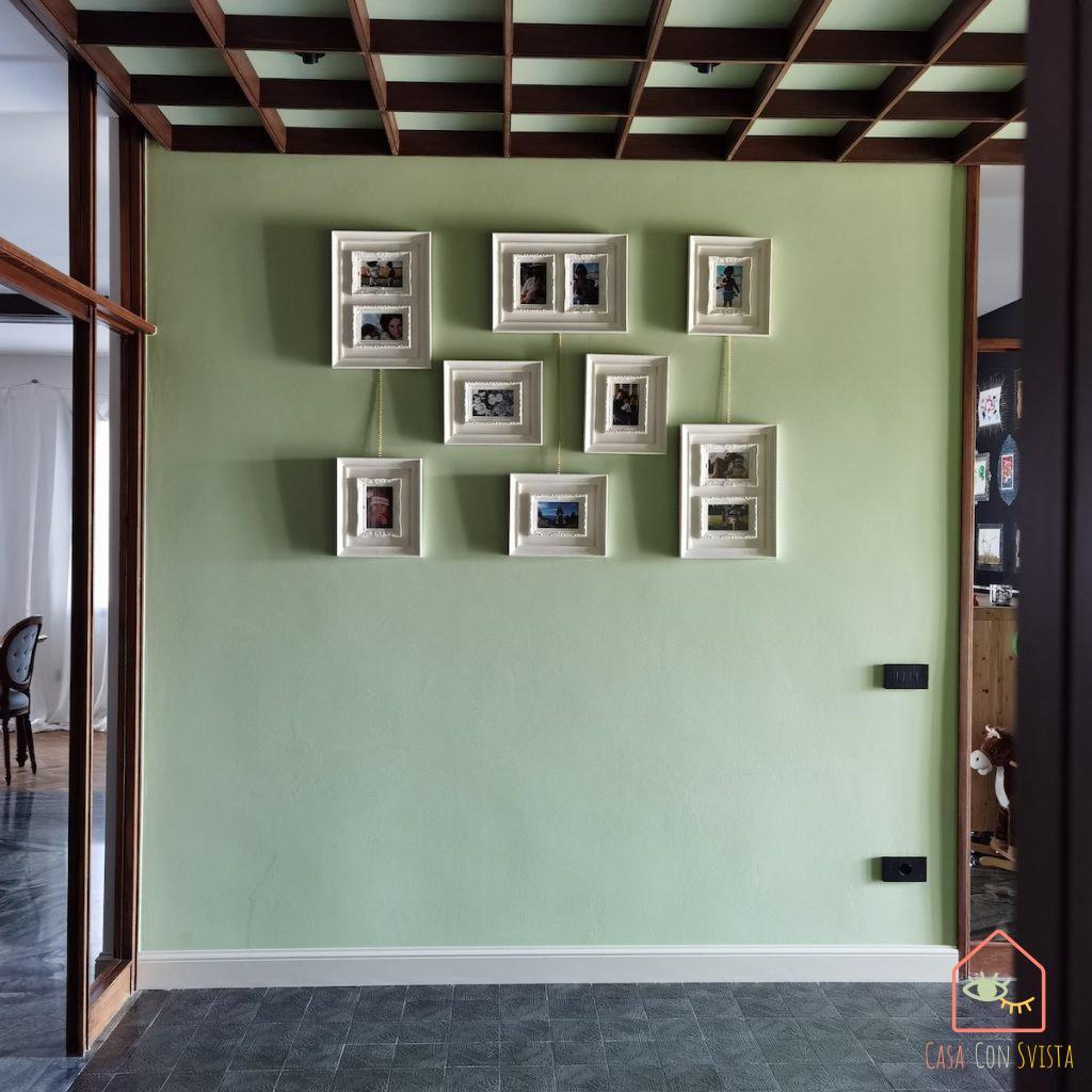ingresso-parete-foto-verde